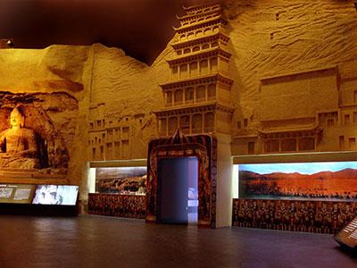 石窟展区中国沈阳世界文化与自然遗产博览会
