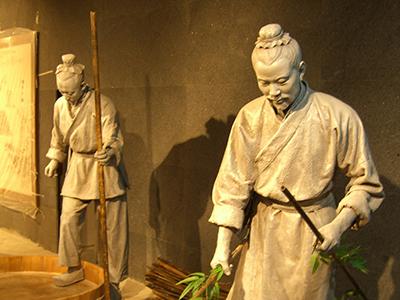 文字博物馆雕塑