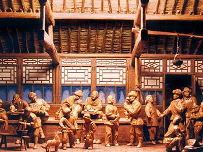 """""""九·一八""""历史博物馆微缩场景"""