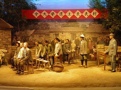 沂蒙革命纪念馆:蜡像多媒体场景