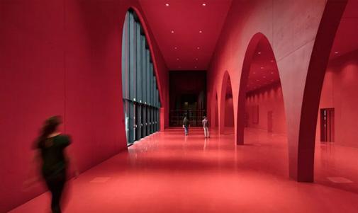 城市展览厅设计
