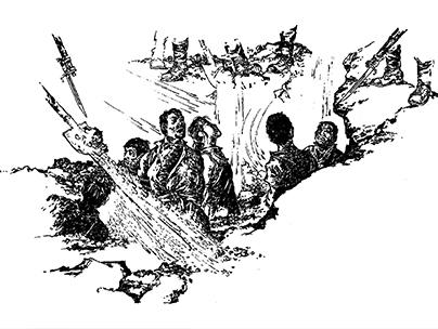 平顶山纪念馆手绘