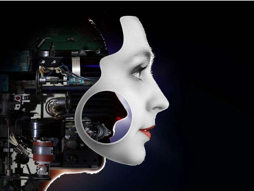 仿真机器人硅胶像I