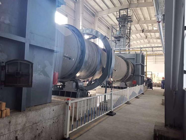 华希活性炭工厂设备展示