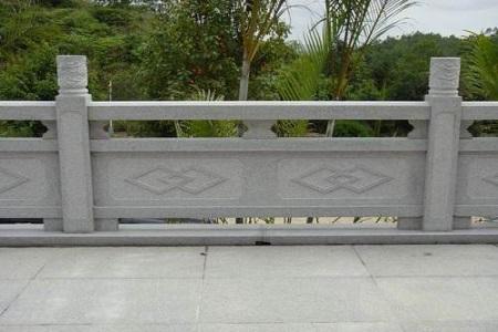 黄锈石花岗岩防护栏