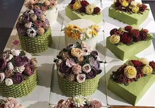 蛋糕裱花培训