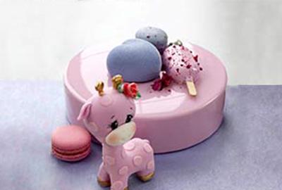 翻糖蛋糕如此漂亮,让我怎么能不爱哪~