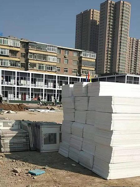 甘肃建投集团天悦国际项目部选用超导热电地暖