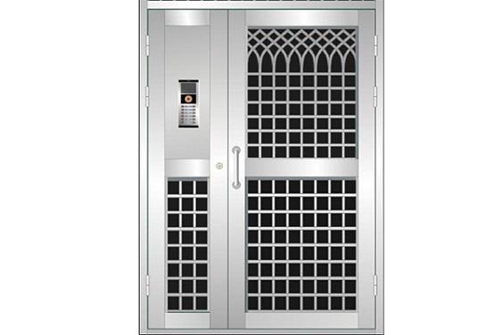 桂林玻璃不锈钢门