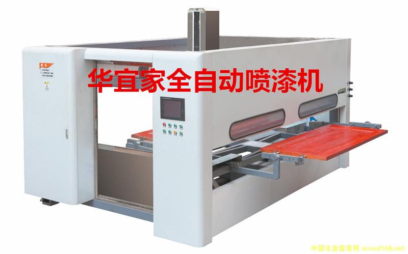 防盗门转印机厂家讲解全自动喷漆机的工作环境