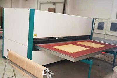 背板木纹转印机