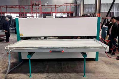 货架层板木纹转印机