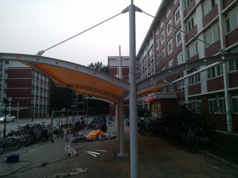 浙江膜结构停车棚