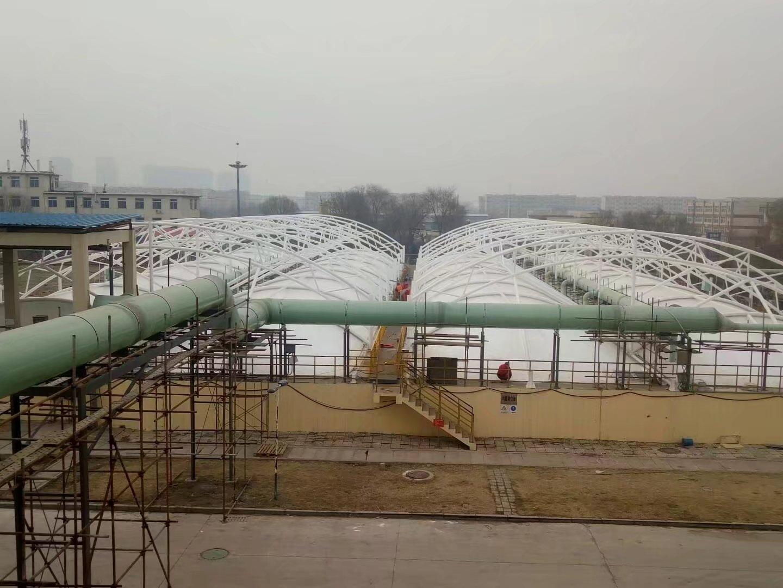 膜结构污水池材质应用以及施工细节有哪些