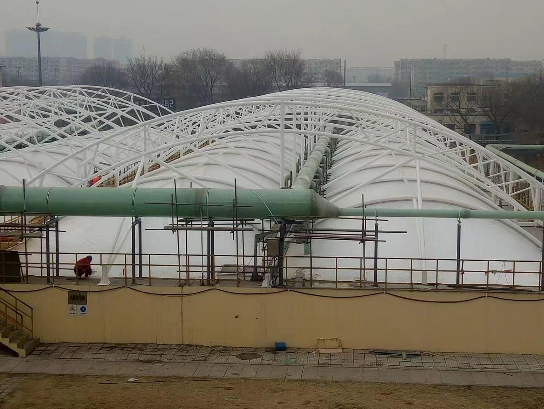 膜结构污水池