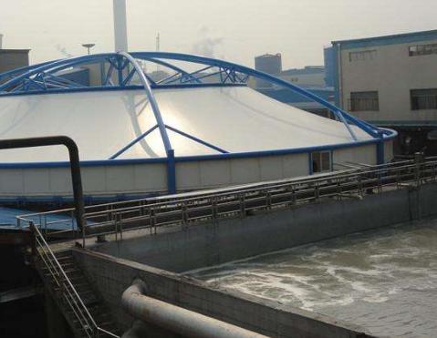 玻璃钢污水池除臭加盖