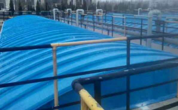 化工厂污水池加盖