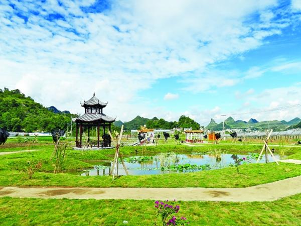 四川人工湿地建设