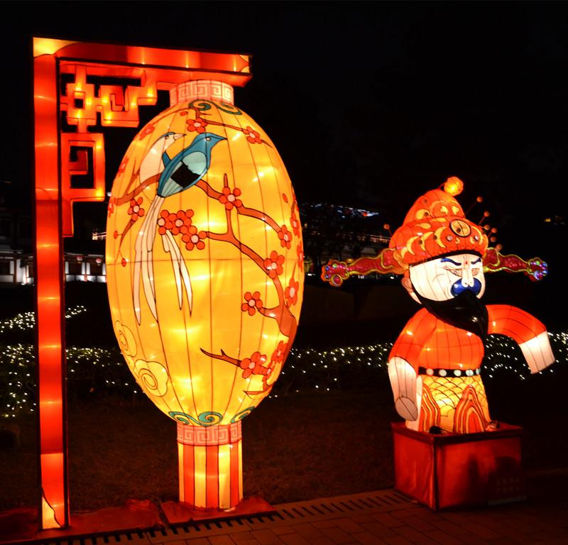 西安彩灯厂家说出春节灯会彩灯花灯制作流程