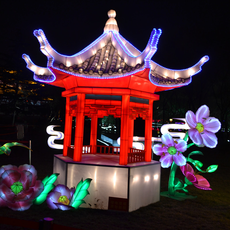 关于西安传统彩灯美文欣赏