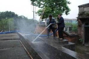 水池清洗操作規范