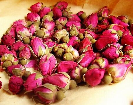 金边玫瑰花茶 :美容养颜
