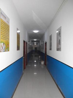 教学区走廊