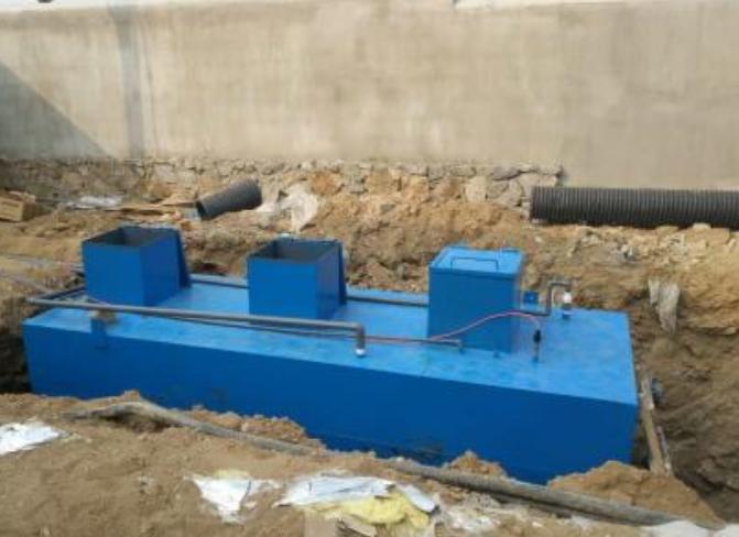 地埋式污水處理設備的操作流程解析