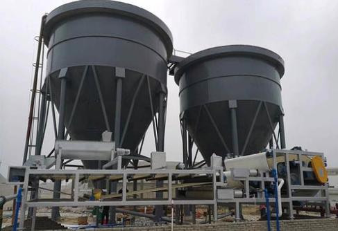 大型洗沙廠污水處理設備