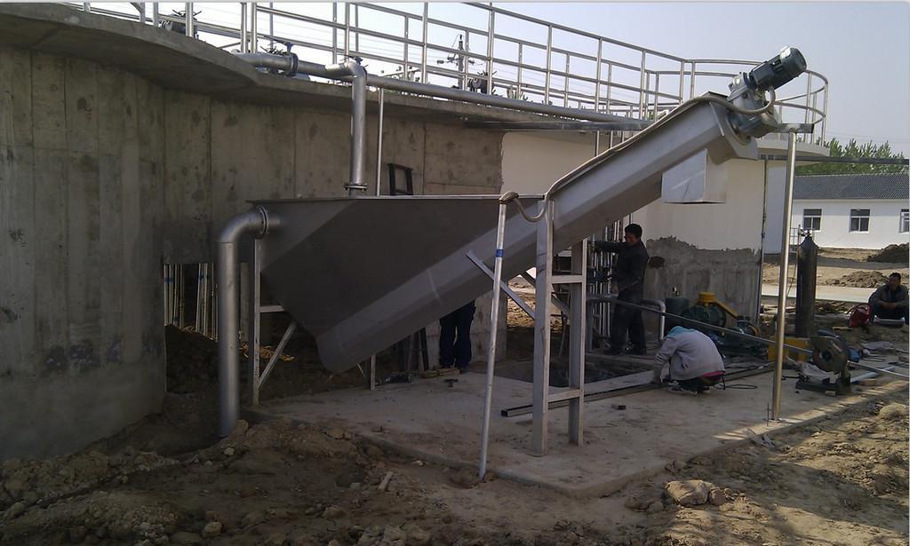 砂水分離器的原理以及注意事項