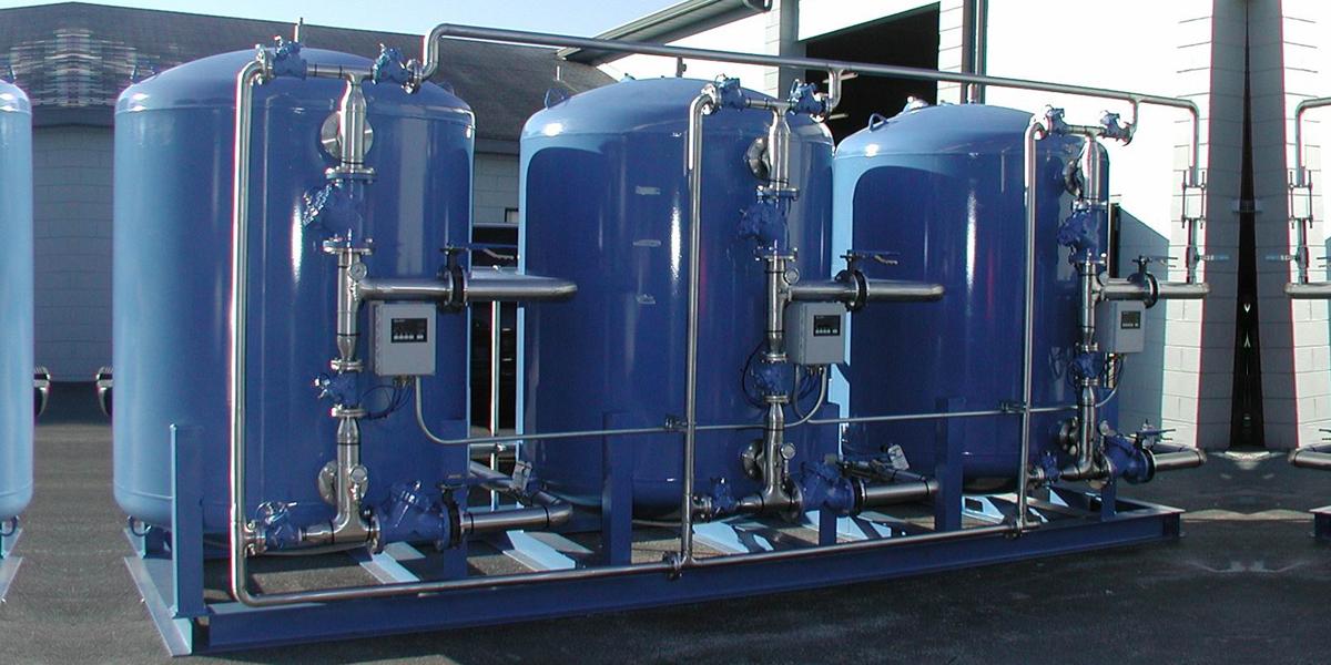 安装使用软化水设备后对加热锅炉起到了保护作用