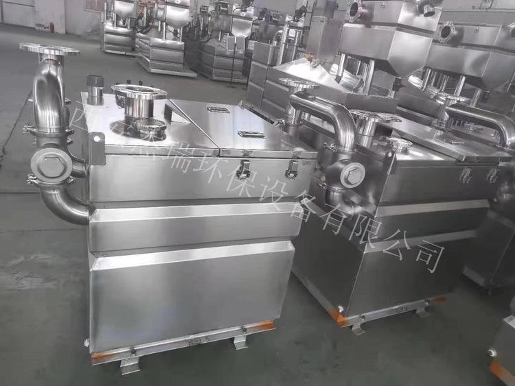 餐厨油水分离器安装不断提升餐厨废弃物无害化