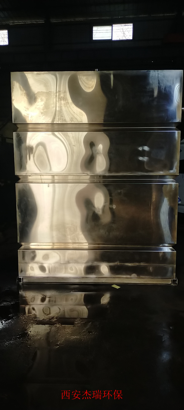 中卫重庆美莱德制药厂外置泵式不锈钢反冲洗污水提升设备发货