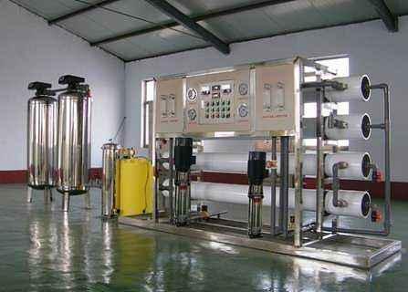 井水过滤水设备中的原水预处理系统