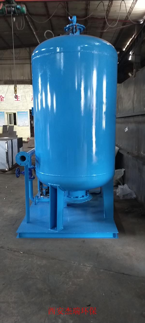 河津市华源燃气循环水站自动补水装置运行良好