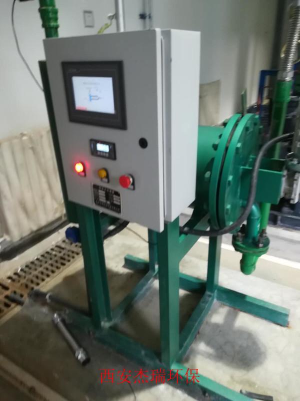 旁流式微晶处理设备配合定压补水装置使用
