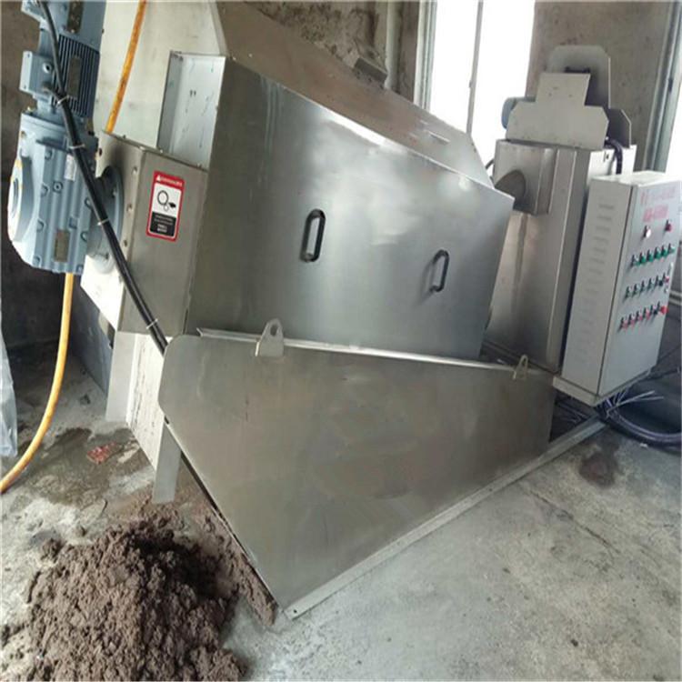 新型叠螺污泥脱水机