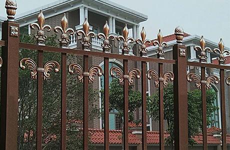 豪宅铝艺栏杆
