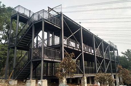 石燕湖公园锌钢护栏和扶手