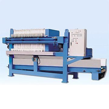 带式压滤机正常停止的操作方法