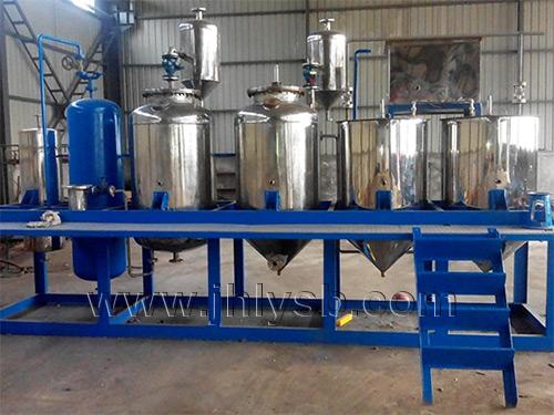 500斤食用油精炼设备