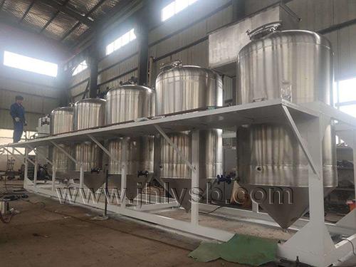 橄榄油精炼设备