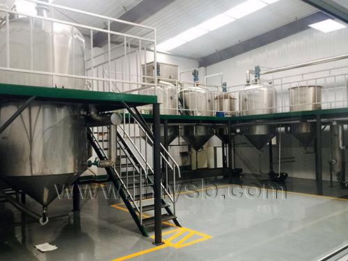 天津谷源油脂有限公司购置2吨苏子油成套设备