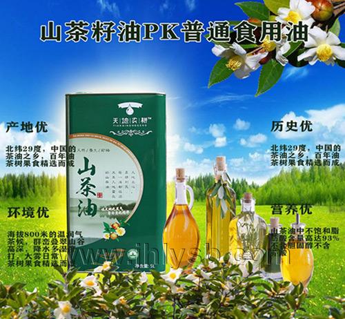 茶籽油精炼提取