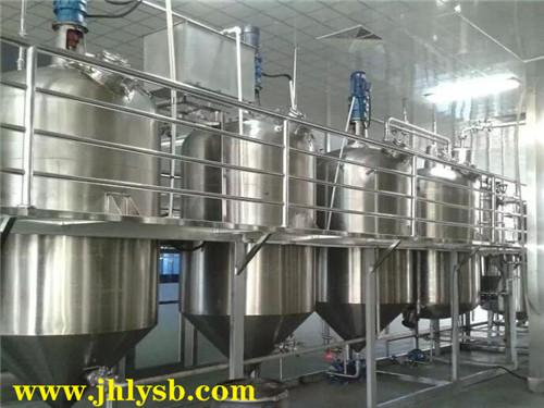 日处理5到10吨食用油精炼成套机械