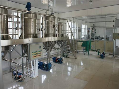 棉籽油精炼设备