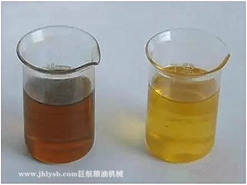 植物油所含的色素有几种 如何脱除