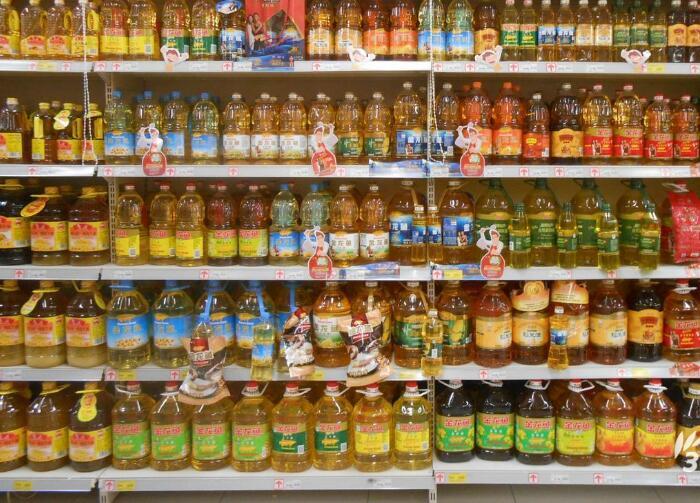 食用油上超市