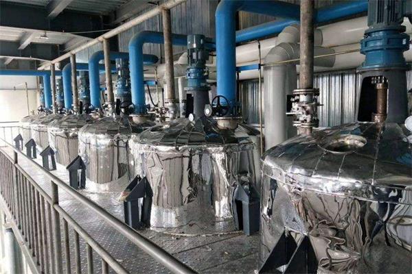 植物油酸炼脱胶原理与节能降耗采用措施