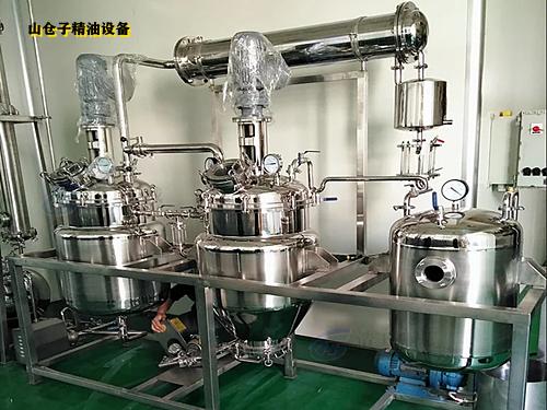 山苍子油提炼加工设备